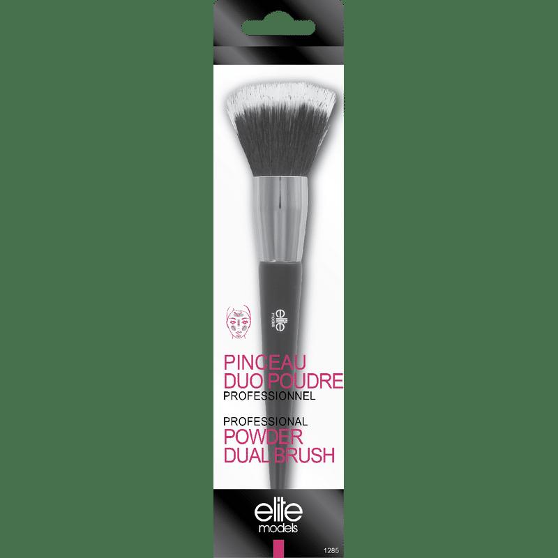 Elite Models (France) Professional Makeup Dual Powder Brush Applicator