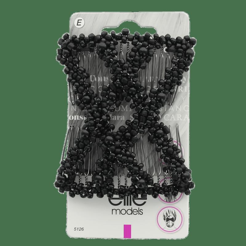 Elite Models (France) Decorative Hair Comb - Black