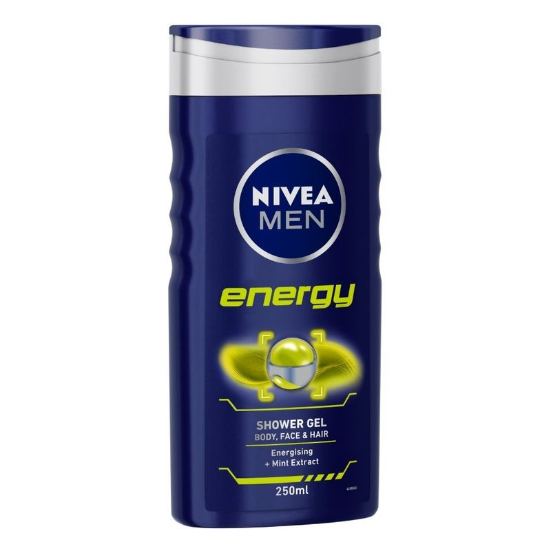 d14ede466506 Nivea Energy Shower Gel For Men