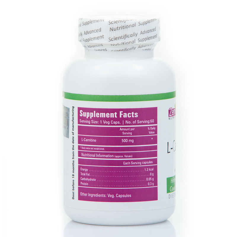 ... outlet store sale fd33e 39ddb Zenith Nutrition Cardiovascular Health -  Buy Zenith Nutrition L-Carnitine ... 3a458f877