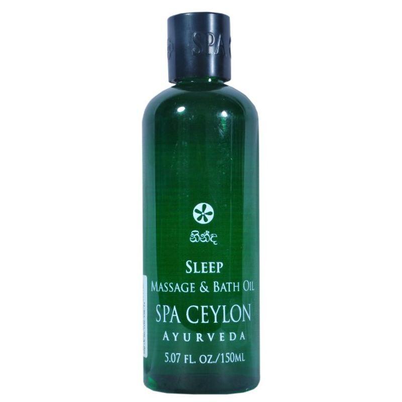 Spa Ceylon Luxury Ayurveda Sleep Therapy Massage & Bath Oil
