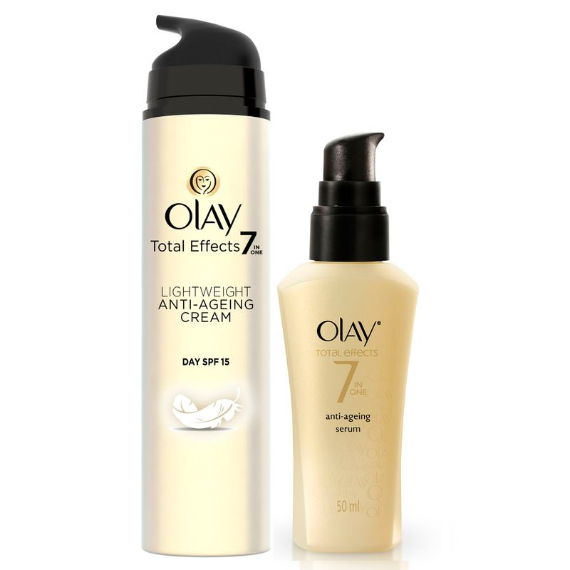 Olay Total Effects Light Weight SPF 15 Day Cream Serum Regime II