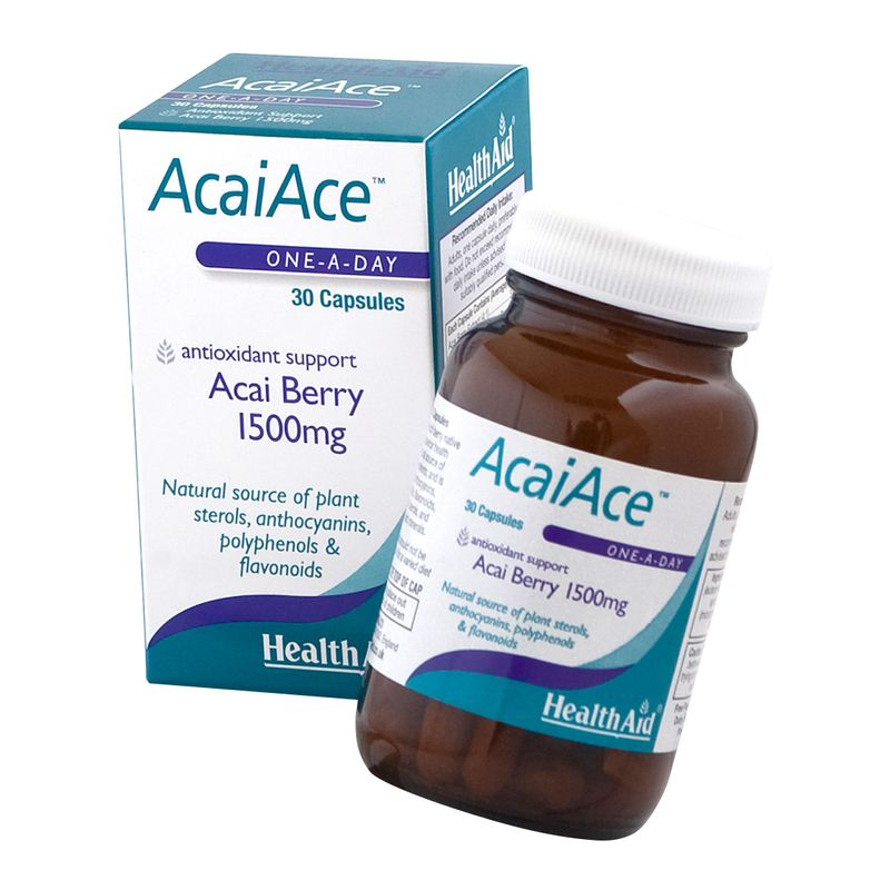 HealthAid Acai Ace 1500mg - Acai Berry
