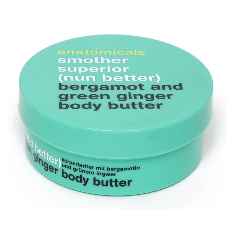 Anatomicals Bergamot And Green Ginger Body Butter