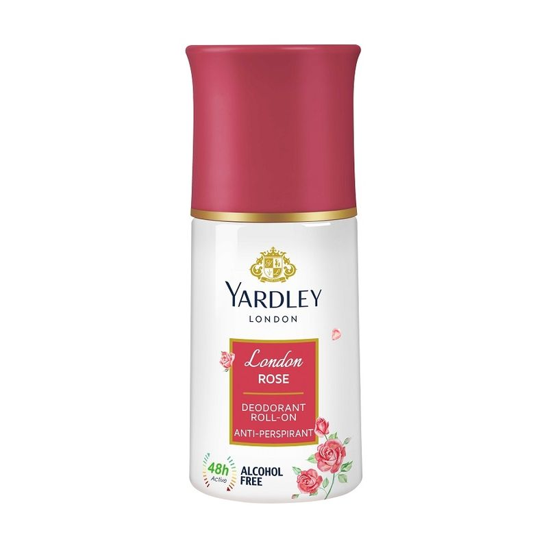 Yardley London - London Rose Anti Perspirant Deodorant Roll On For Women