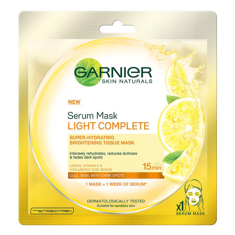 Garnier Skin Naturals Light Complete Serum Mask