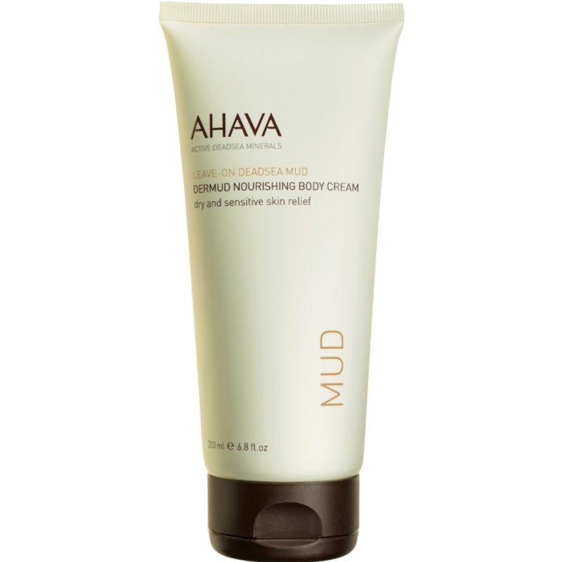 AHAVA Leave-on Dead Sea Mud Dermud Nourishing Body Cream - 697045150151