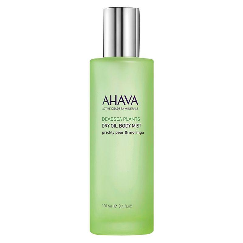 AHAVA Dead Sea Plants Dry Oil Body Mist - Prickly Pear & Moringa