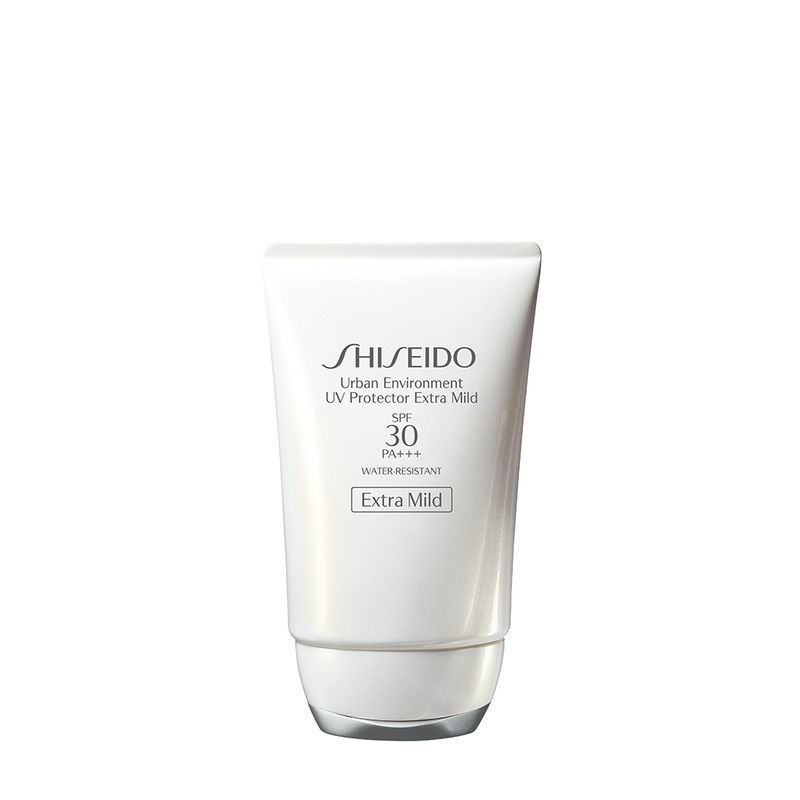Shiseido Urban Environment UV Protector Extra Mild SPF30 PA+++ - For All Skin Types Especially For Sensitive Skin Including Babies
