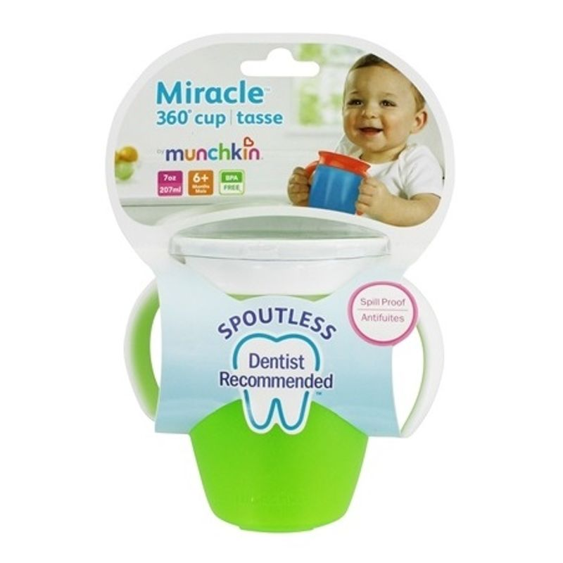 Munchkin Miracle 360 Degree Sippy Cup - Green