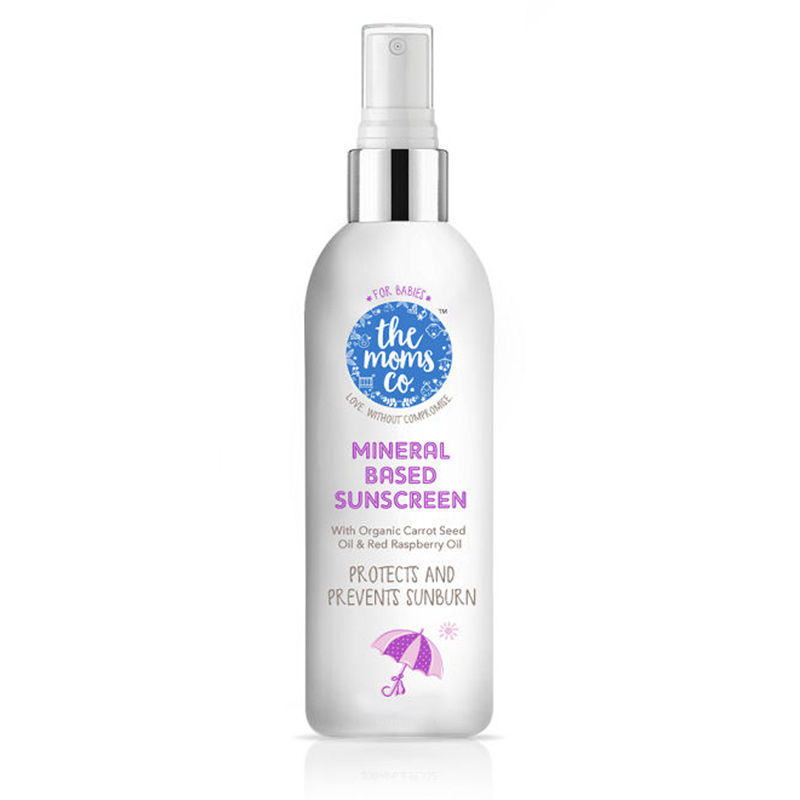 The Moms Co. Mineral Based Sunscreen Spf 50+