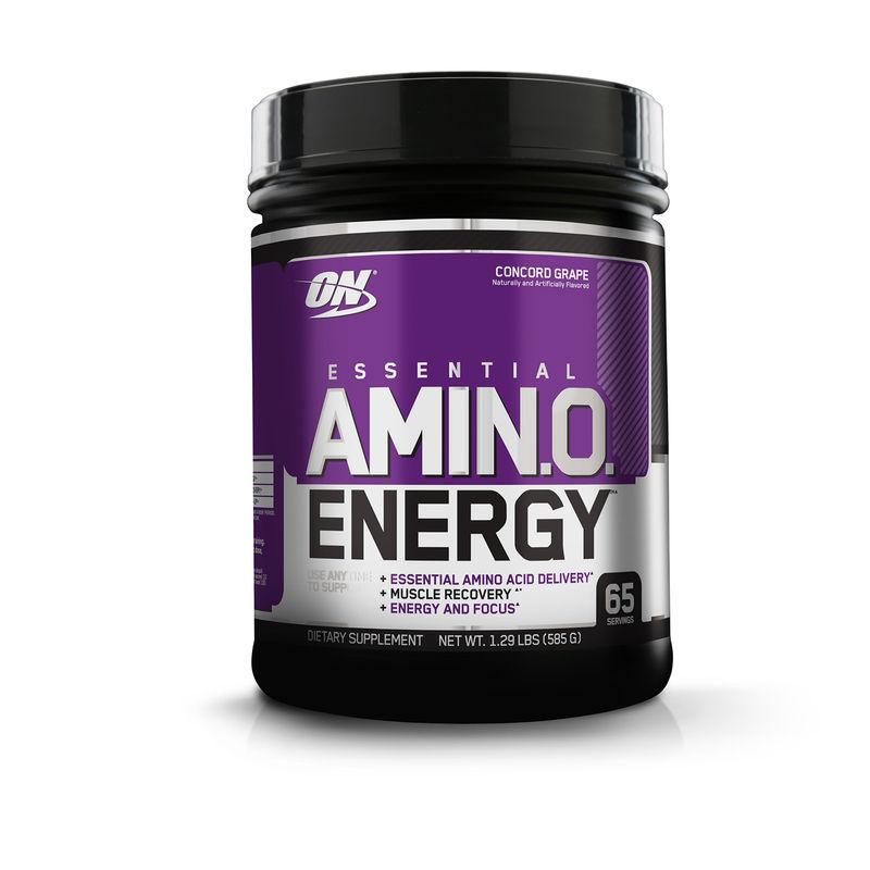 Optimum Nutrition (ON) Amino Energy - 65 Servings (Concord Grape)
