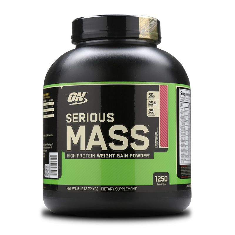 Optimum Nutrition (ON) Serious Mass Gainer (Strawberry)