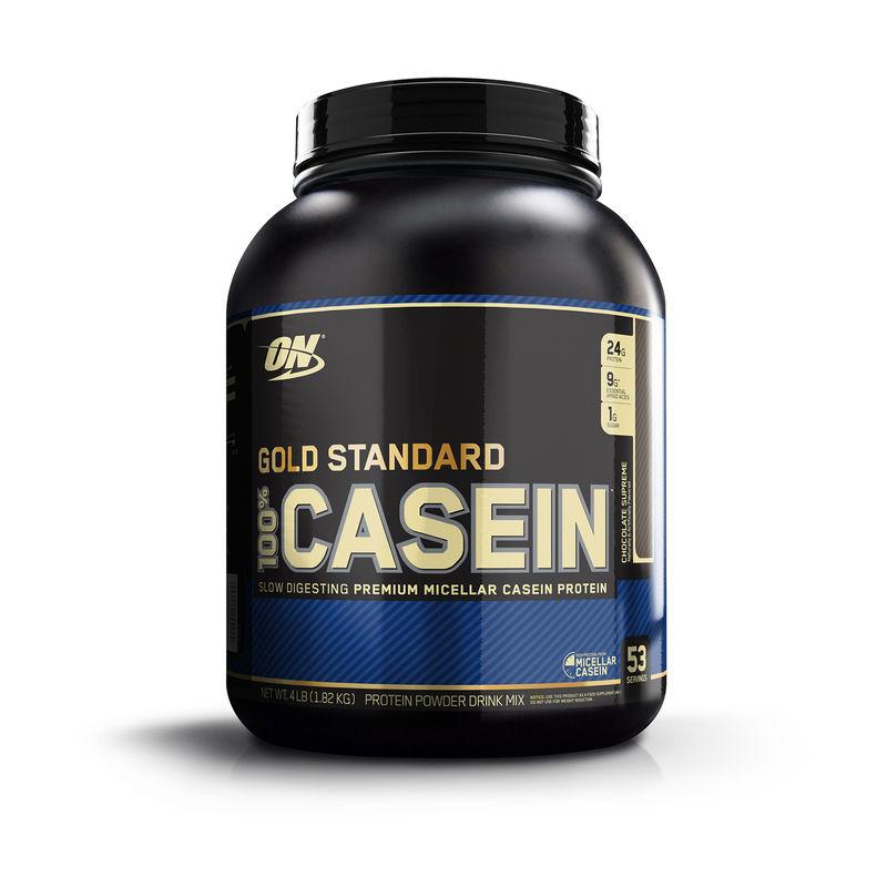 Optimum Nutrition (ON) 100% Casein Protein - 4 Lbs (Chocolate Supreme)