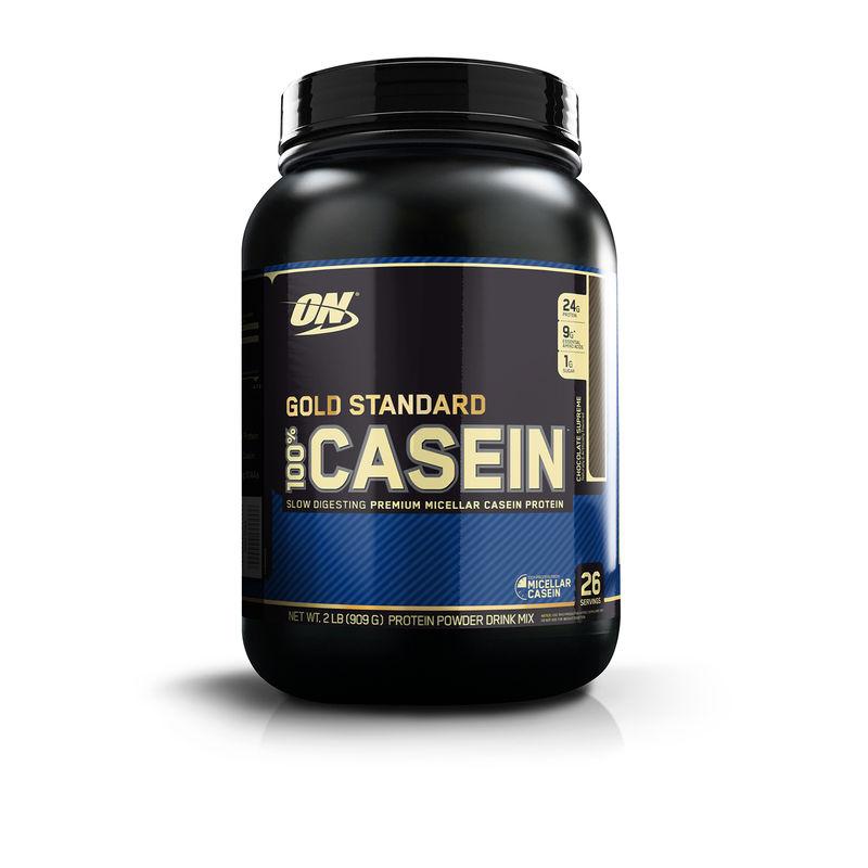Optimum Nutrition (ON) 100% Casein Protein - 2 Lbs (Chocolate Supreme)