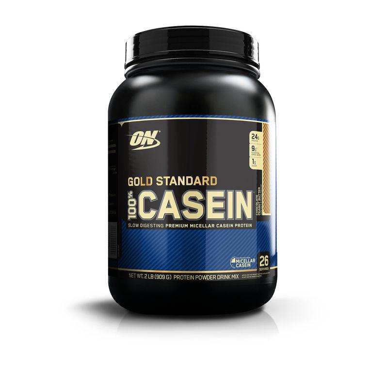 Optimum Nutrition (ON) 100% Casein Protein - 2 Lbs (Chocolate Peanut Butter)