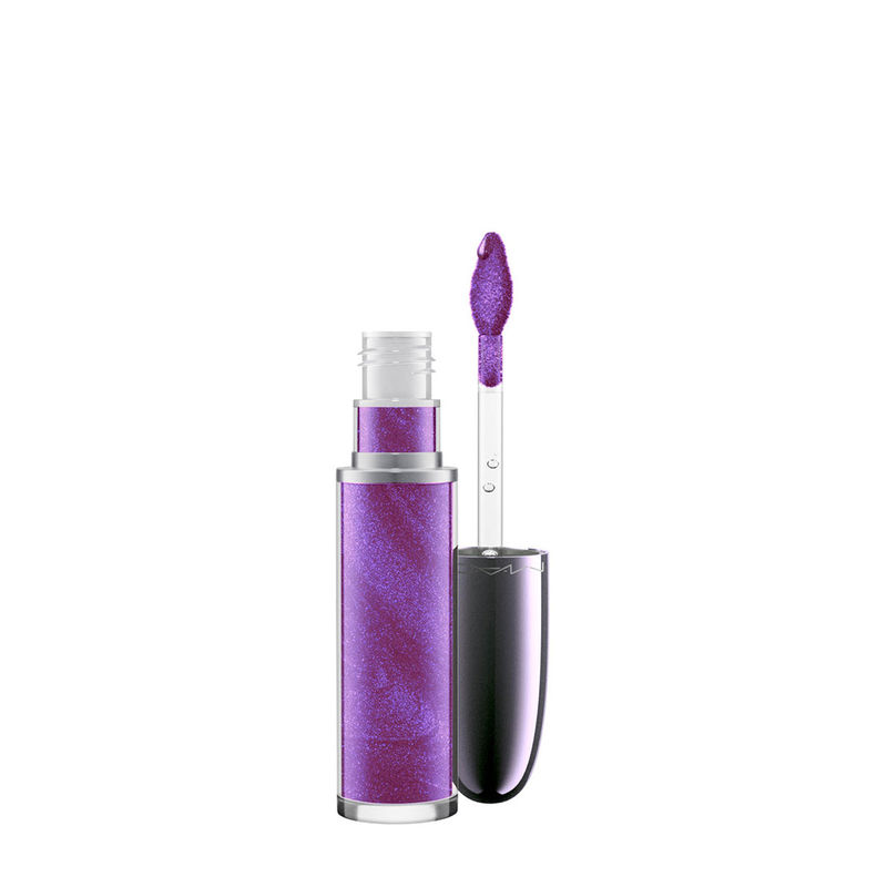 M.A.C Grand Illusion Holographic Glossy Liquid Lipcolour - Queen's Violet
