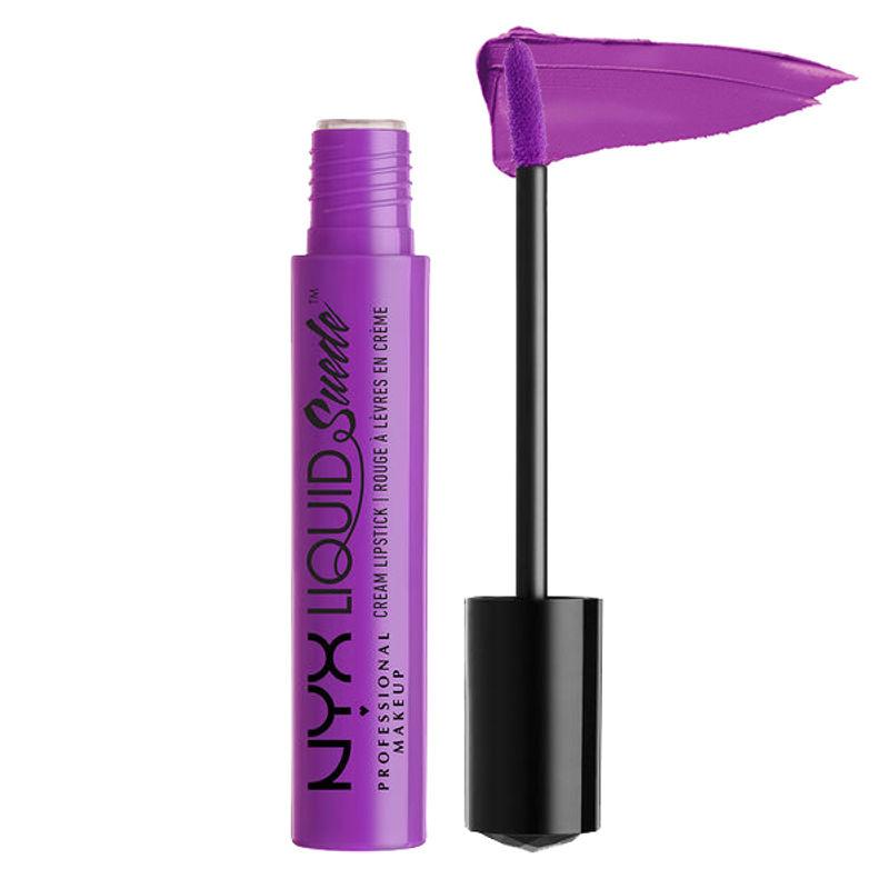 NYX Professional Makeup Liquid Suede Cream Lipstick - Run The World