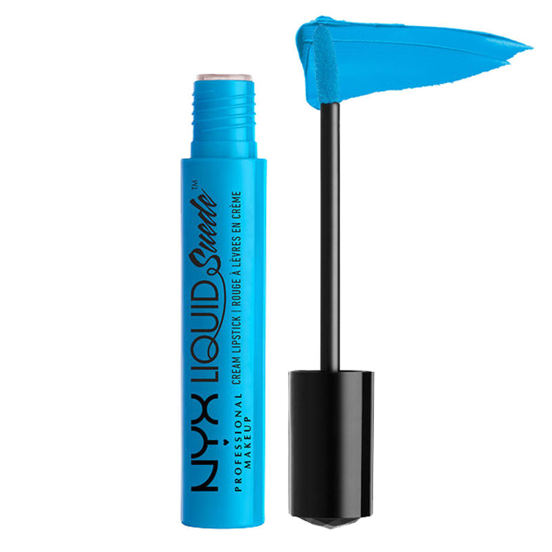 NYX Professional Makeup Liquid Suede Cream Lipstick - Little Denim Dress