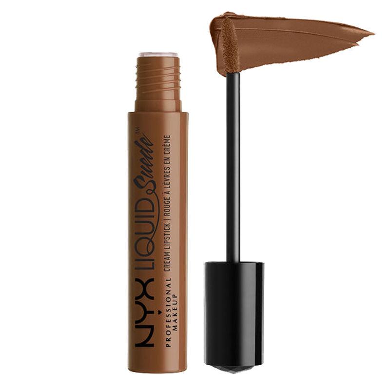 NYX Professional Makeup Liquid Suede Cream Lipstick - Downtown Beauty
