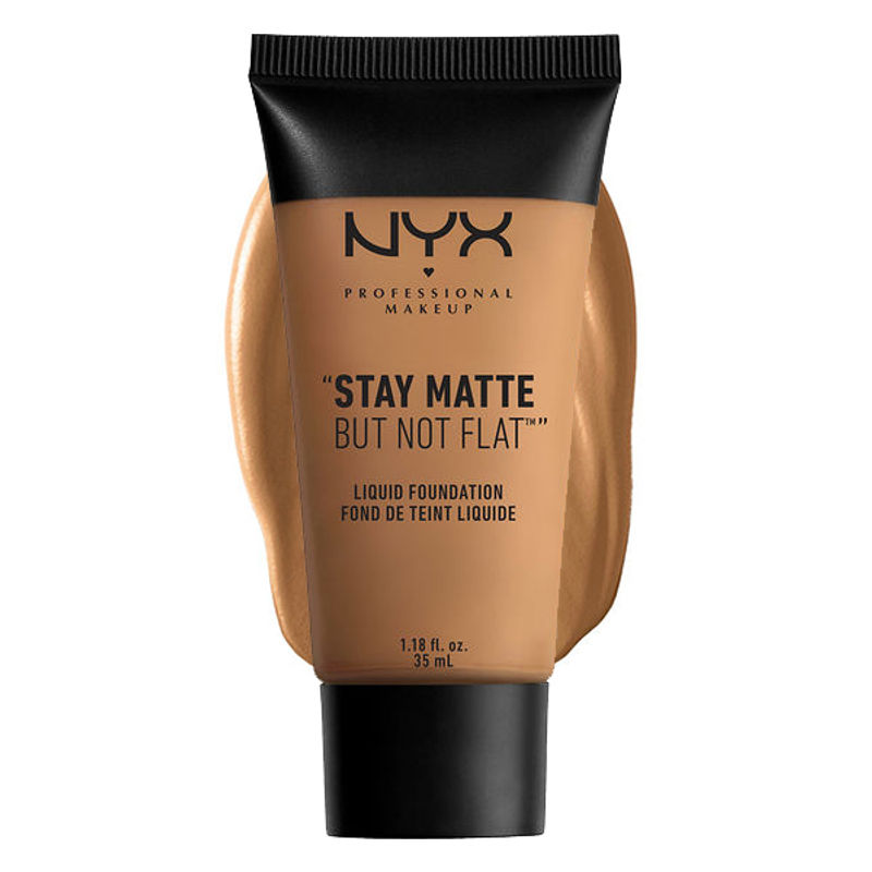NYX Professional Makeup Stay Matte But Not Flat Liquid Foundation - 18.3 Deep Golden
