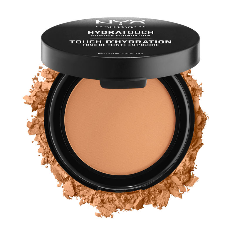 NYX Professional Makeup Hydra Touch Powder Foundation - 8.5 Warm Beige