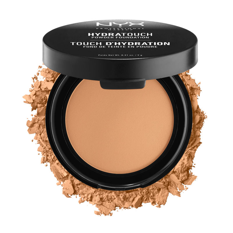 NYX Professional Makeup Hydra Touch Powder Foundation - 10.5 Deep Honey
