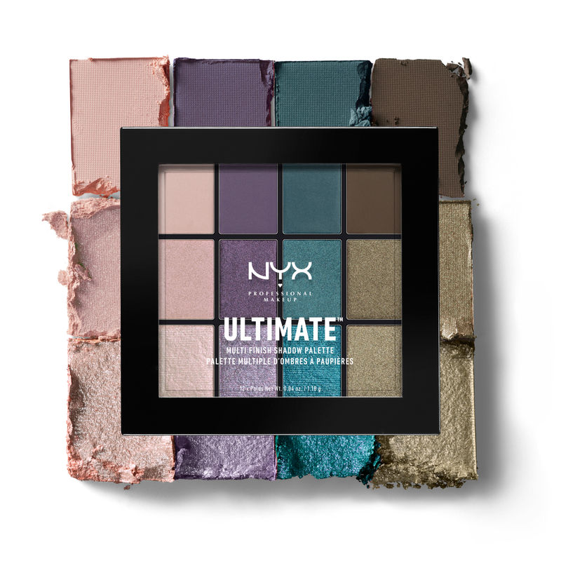 NYX Professional Makeup Ultimate Multi-Finish Shadow Palette - Smoke Screen