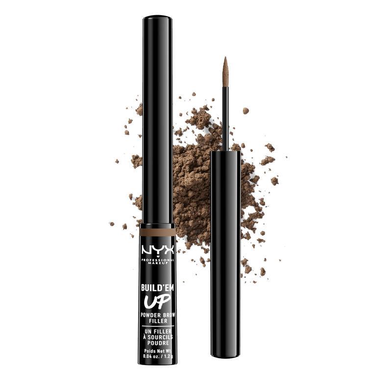 NYX Professional Makeup Build 'Em Up Brow Powder - Soft Brown