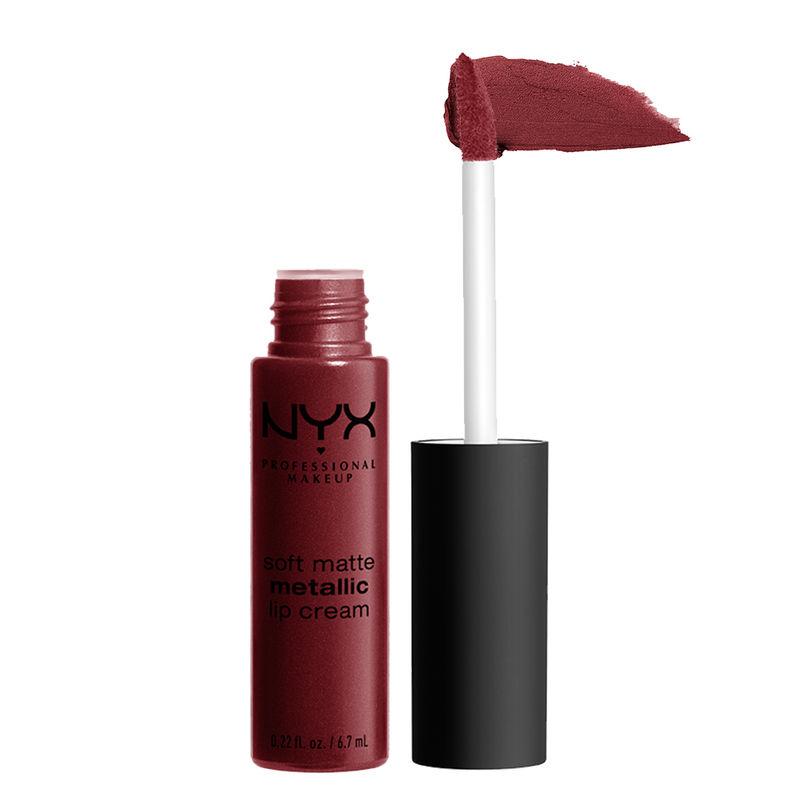 NYX Professional Makeup Soft Matte Metallic Lip Cream - Budapest
