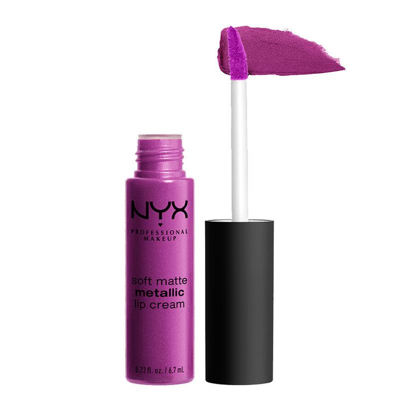 NYX Professional Makeup Soft Matte Metallic Lip Cream - Seoul