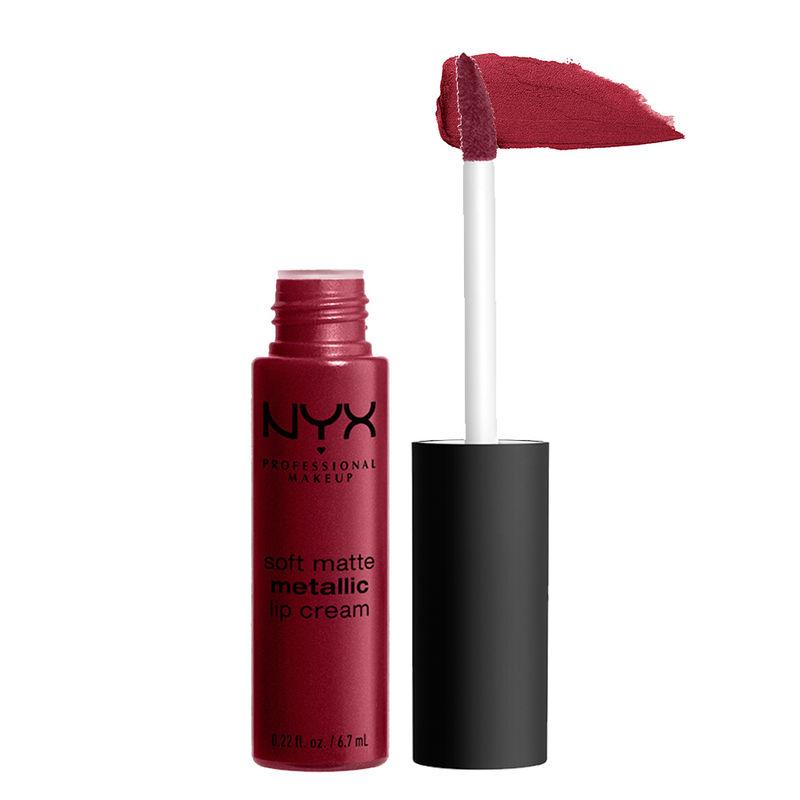NYX Professional Makeup Soft Matte Metallic Lip Cream - Madrid