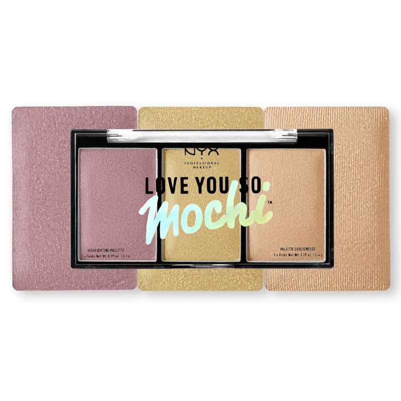 NYX Professional Makeup Love You So Mochi Highlighting Palette - Lit Life