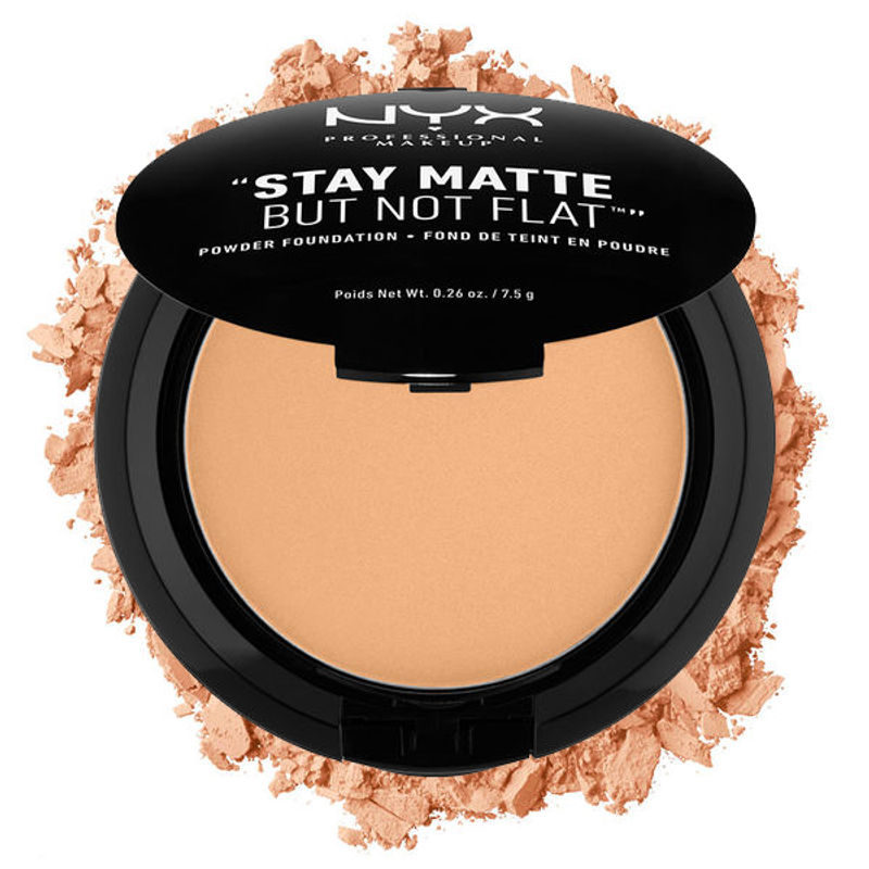 NYX Professional Makeup Stay Matte But Not Flat Powder Foundation - 05 Soft Beige
