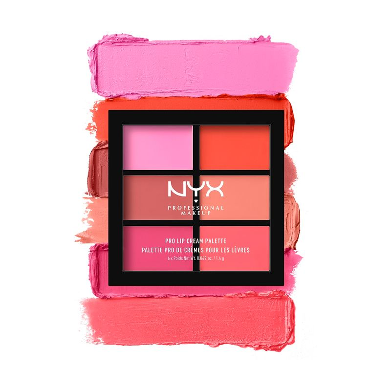 NYX Professional Makeup Pro Lip Cream Palette - The Pinks