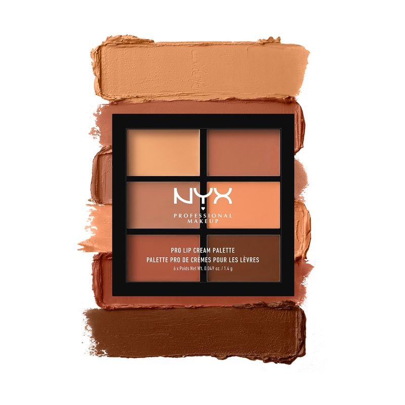 NYX Professional Makeup Pro Lip Cream Palette - The Nudes