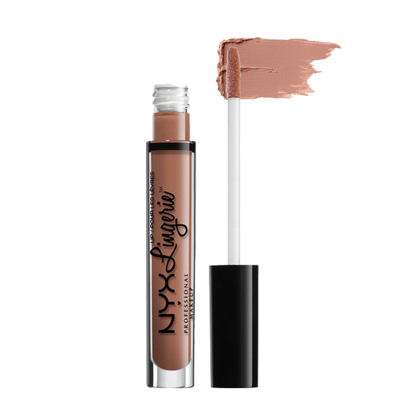 NYX Professional Makeup Lip Lingerie Liquid Lipstick - Baby Doll