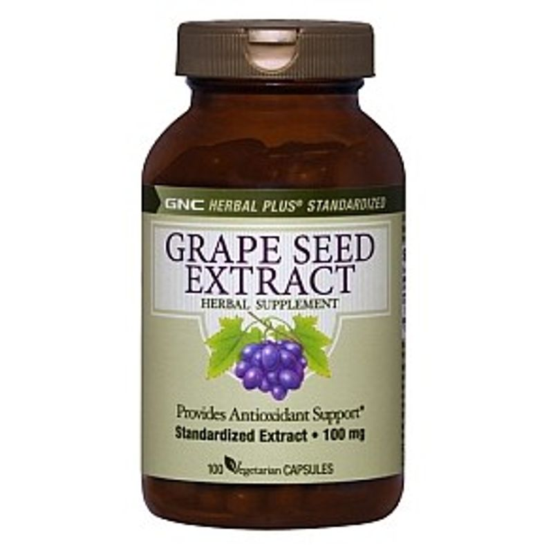 GNC Grape Seed Extract 100mg (100 Capsules)