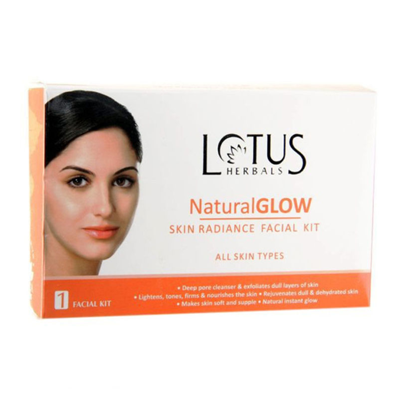 Lotus Herbals Natural Glow Skin Radiance 1 Facial Kit (Save Rs.50)