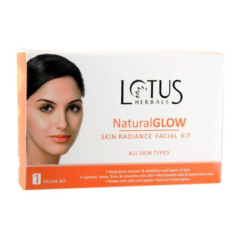 Lotus Herbals Natural Glow Skin Radiance 1 Facial Kit
