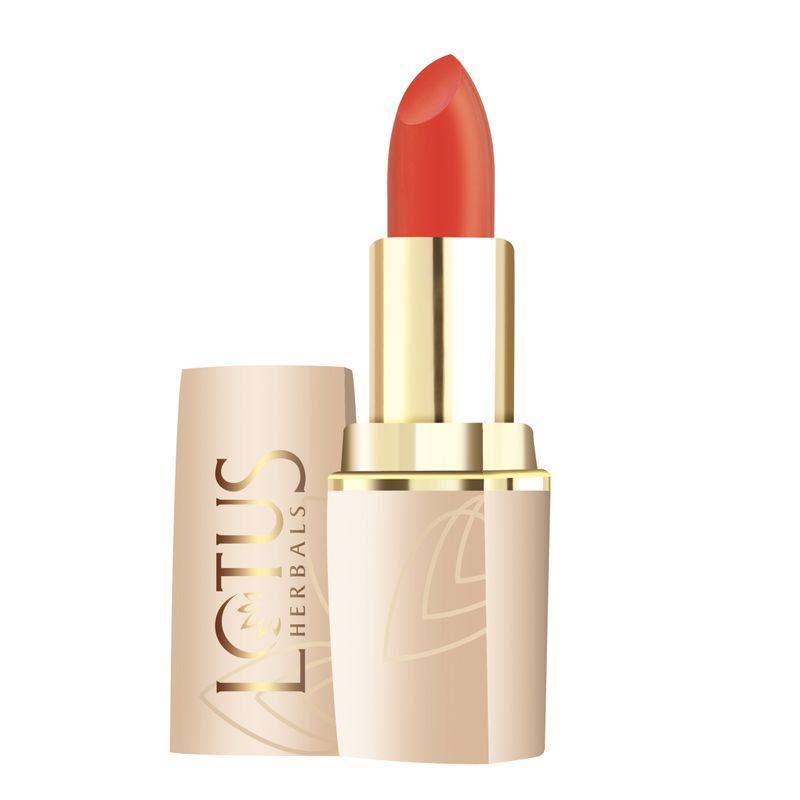 Lotus Herbals Pure Colors Matte Lip Color - 598 Orange Envy