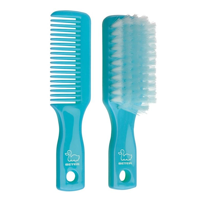 Beter Beauty Accessories Baby Hair Brush And Comb Set