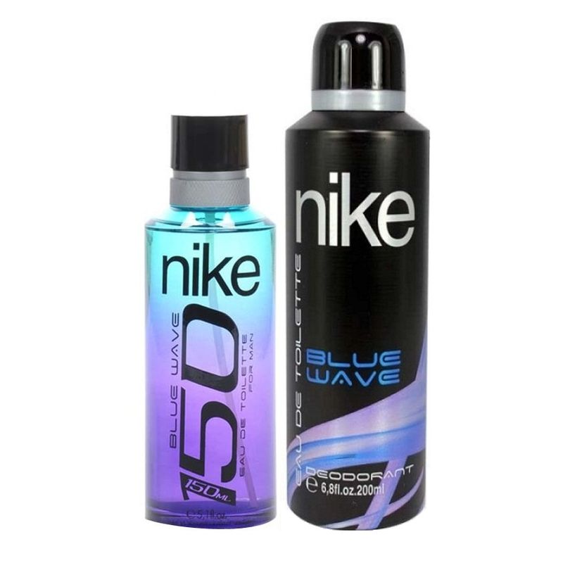 Nike 150 On Blue Wave Gift Set For Men (EDT 150 Ml+ Deo 200 Ml)