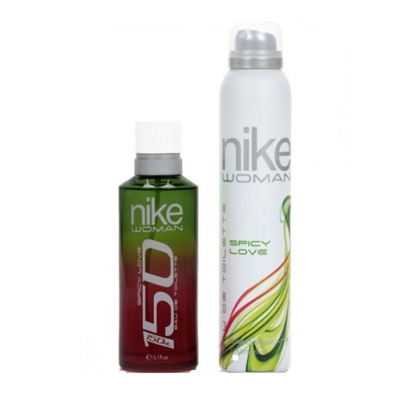 Nike 150 Spicy Love Gift Set For Women (EDT 150 Ml + Deo 200 Ml)