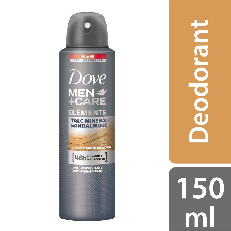 Dove Men+Care Antiperspirant Deodorant Talc Mineral + Sandalwood