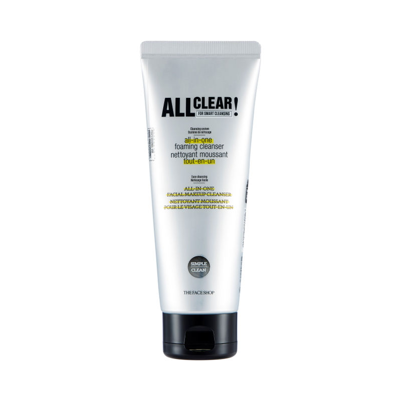 The Face Shop All Clear All In One Foaming Cleanser