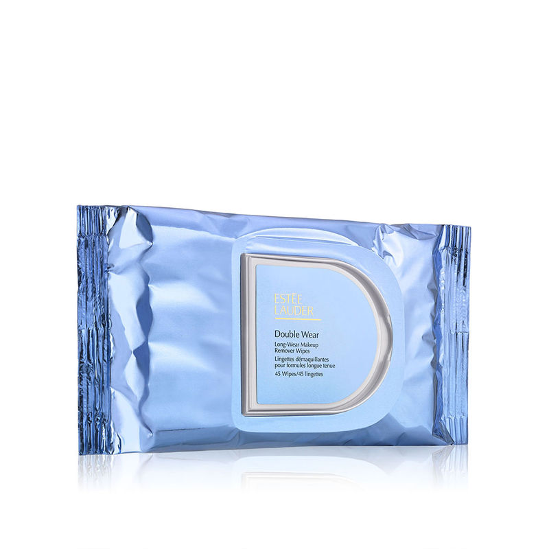 Estee Lauder Double Wear Long-wear Makeup Remover Wipes 45 Wipes