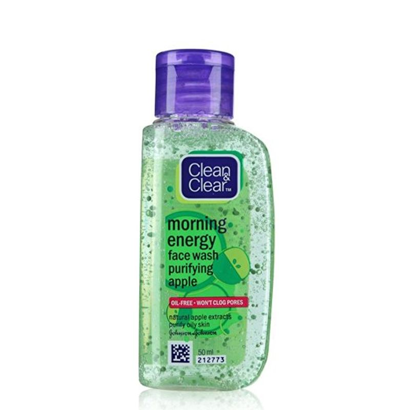 Clean & Clear Morning Energy Face Wash Purifying Apple - 8901012188088