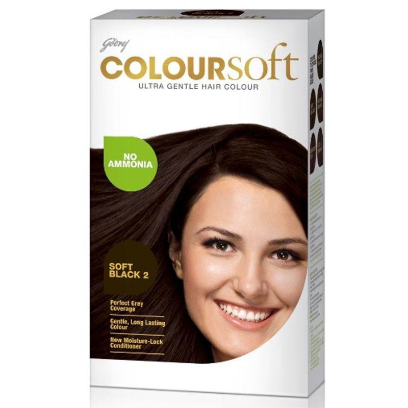 Godrej Coloursoft Hair Colour - Soft Black