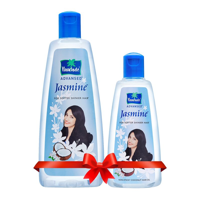 Parachute Advansed Jasmine Coconut Hair Oil, 300 Ml With FREE 90 Ml Pack